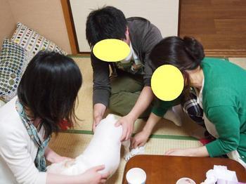 うれションの嵐( TДT).JPG